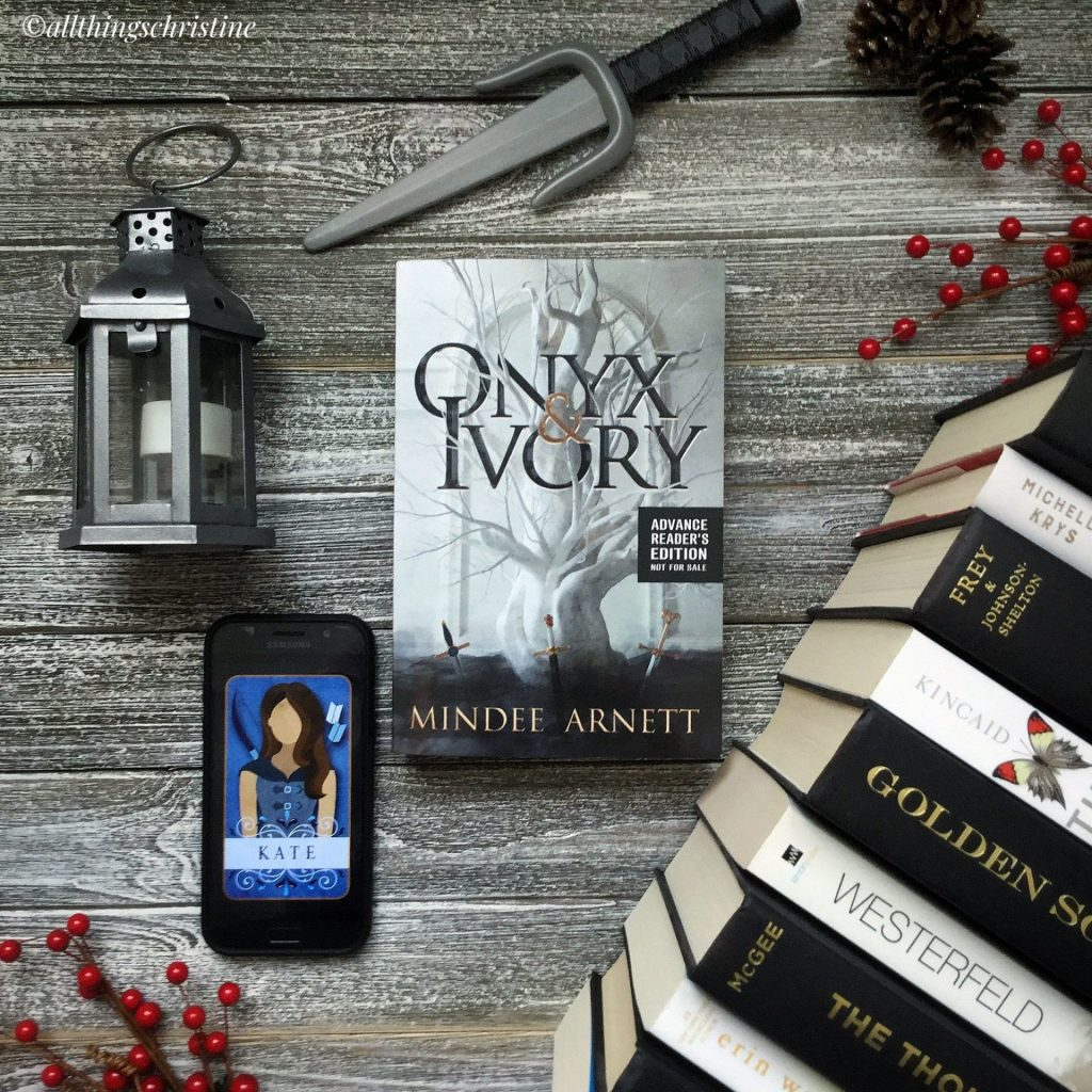 Book Review: Onyx and Ivory </br> By: Mindee Arnett