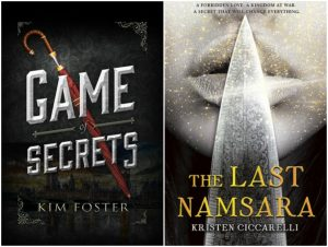 Game of Secrets & The Last Namsara Covers