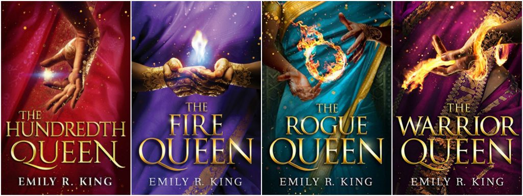 The Hundredth Queen Series Covers