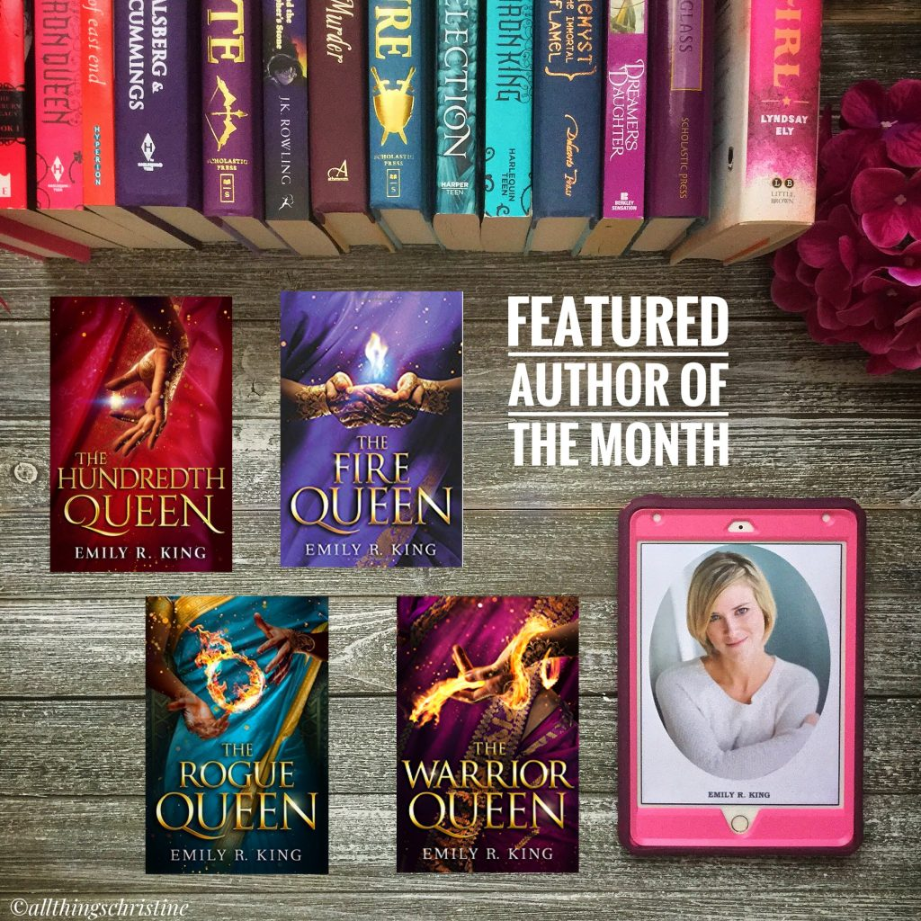 Feature Author of the Month: Emily R. King Featured Image