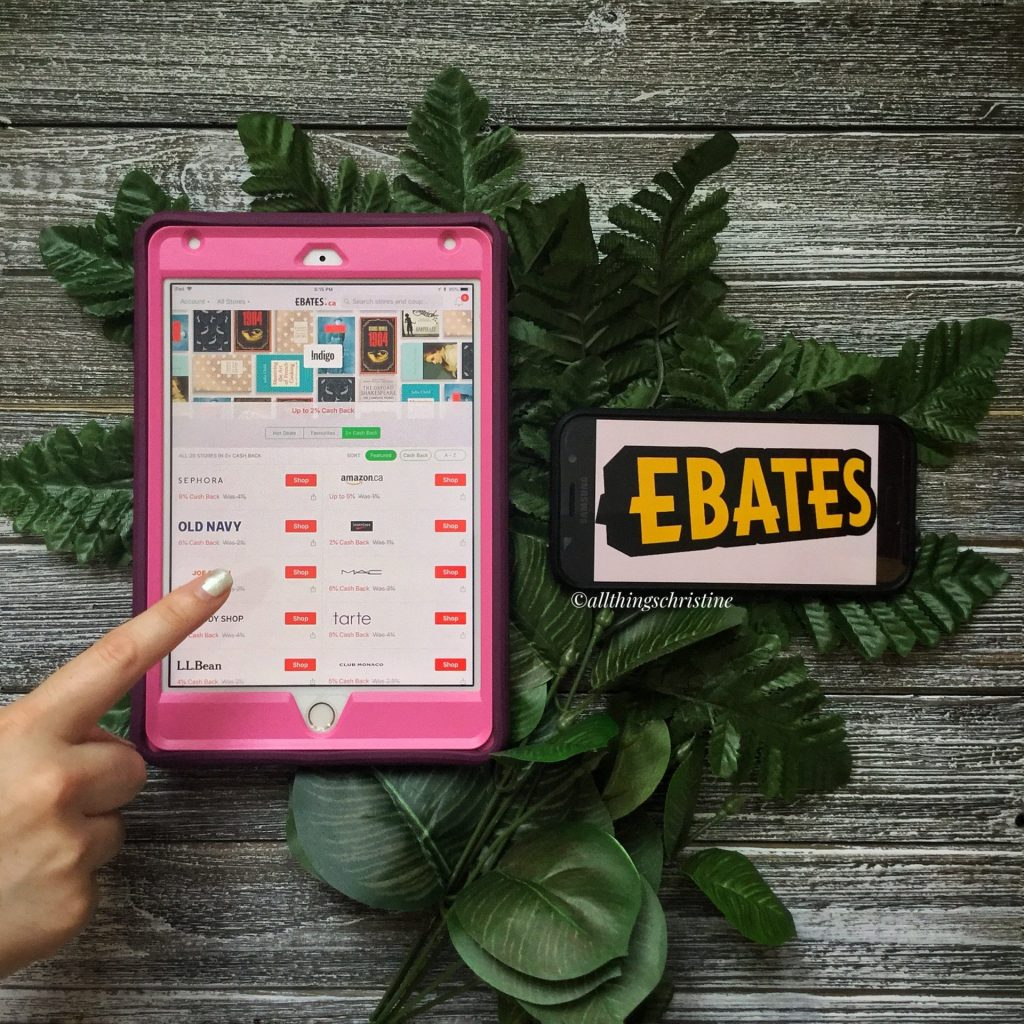Books on a Budget: Ebates