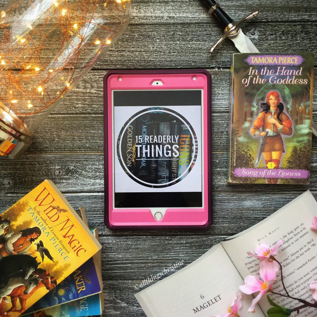 15 Readerly Things