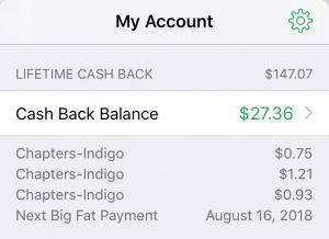 My Ebates Money