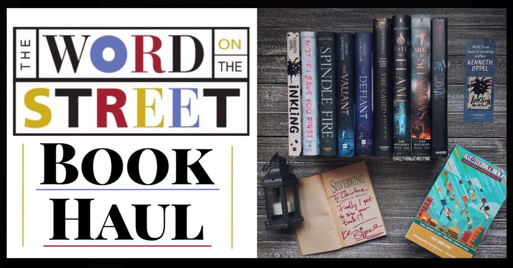 Word on the Street 2018 Book Haul Banner
