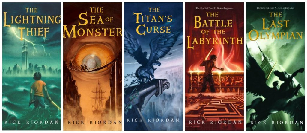Percy Jackson and the Olympians Covers
