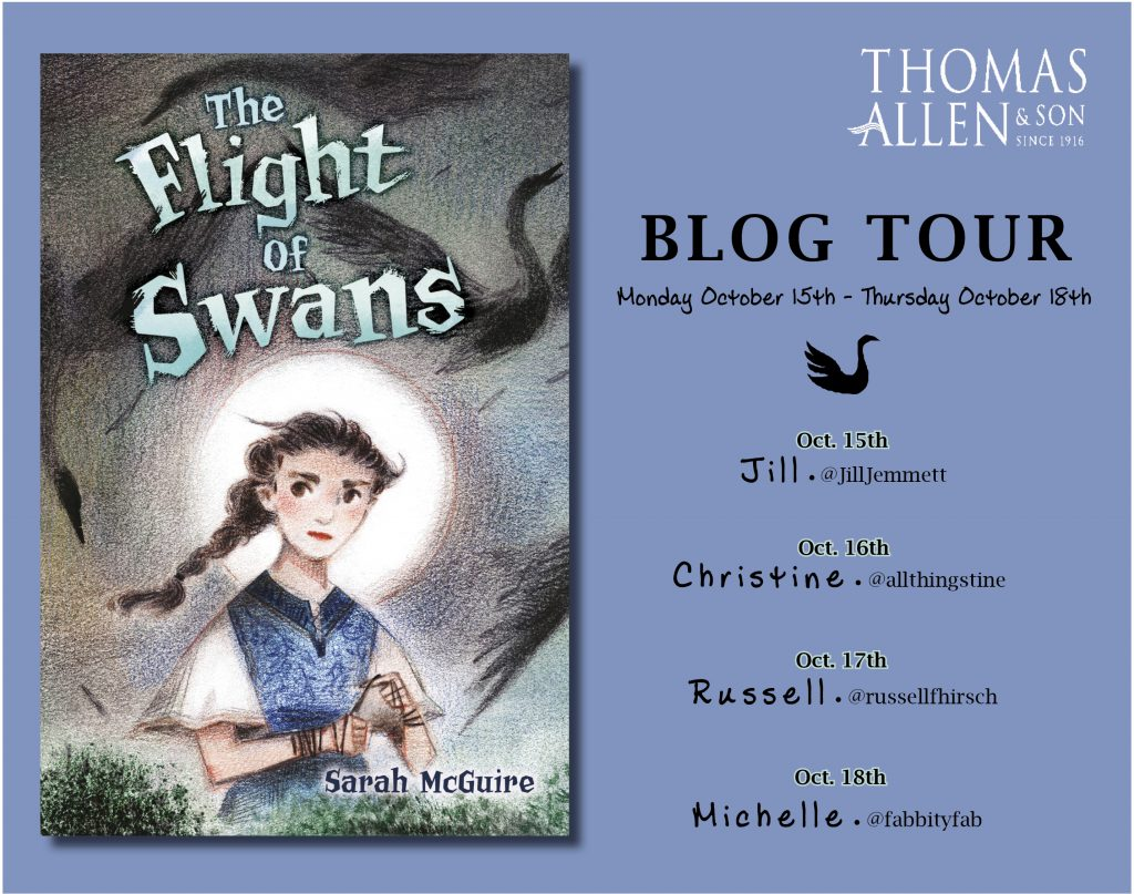 The Flight of the Swans Blog Tour Banner