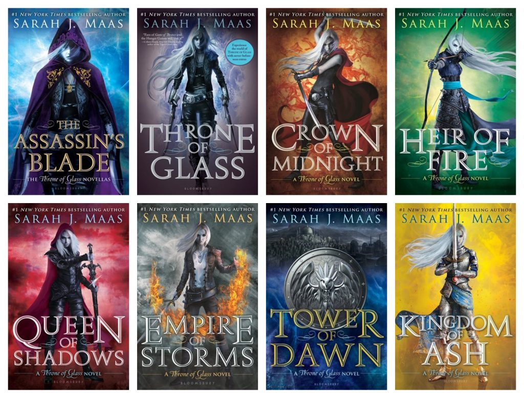Throne of Glass Covers