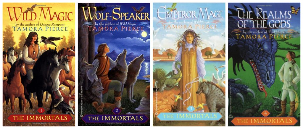 The Immortals by Tamora Pierce Banner