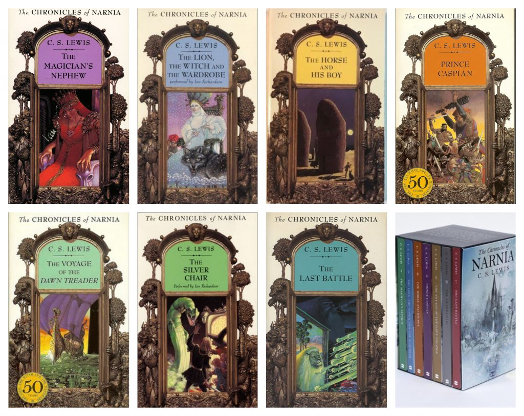 Chronicles of Narnia Book Covers Banner
