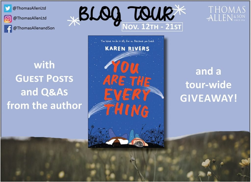 You Are the Everything Blog Tour Banner