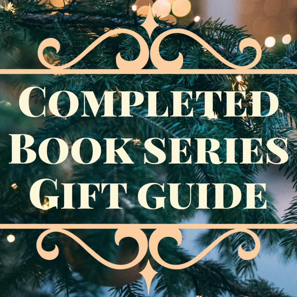 Completed Book Series Gift Guide Featured Image