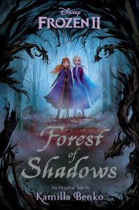 Frozen II Forest of Shadows Book Cover